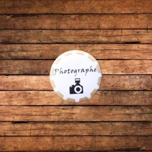 Badge ''photographe''